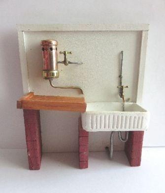 Hand made Large sink set