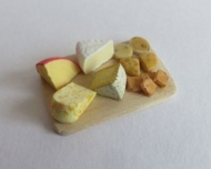 Cheese and biscuit board